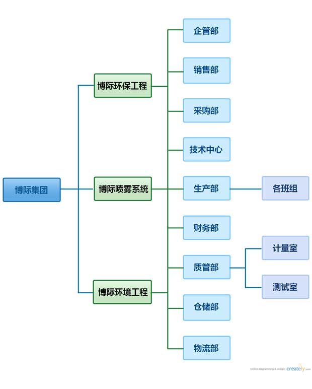 Boji Group Organizational Structure