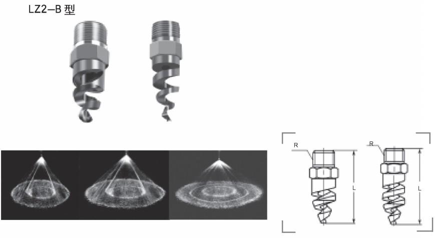 螺旋喷嘴LZ2-B型