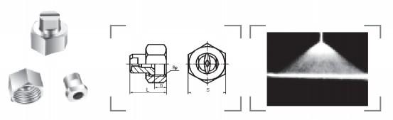 扇形喷嘴B1型