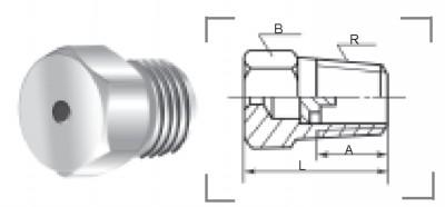 實心錐形噴嘴QZ9型