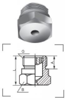实心锥形喷嘴QZ13型