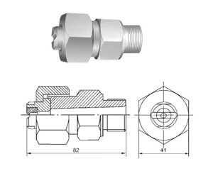 GPZ Series high-pressure nozzle